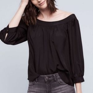 NWT Anthropologie Maeve Yanna Off The Shoulder Top
